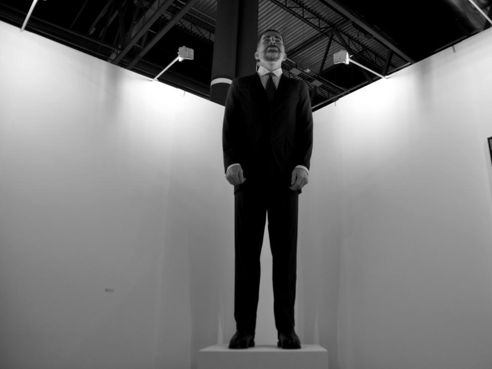 La escultura alcanza los 4,4 metros.