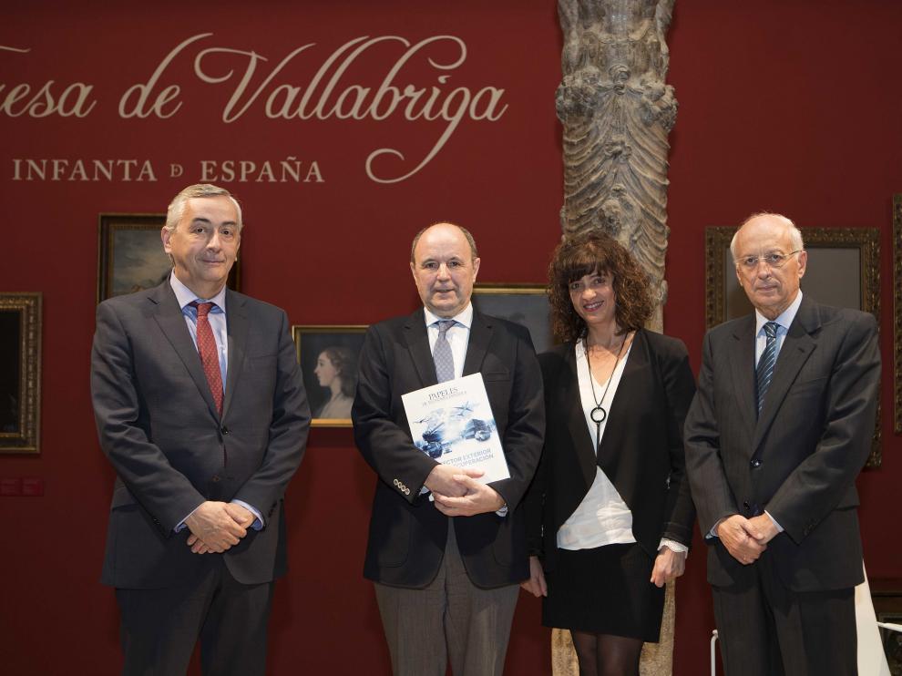 Presentación de la revista 'Papeles de Economía Española'