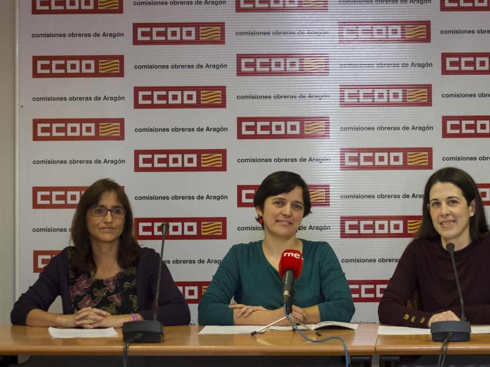 Azucena Ayuso, Tania González, María Lobera y Francisco José González