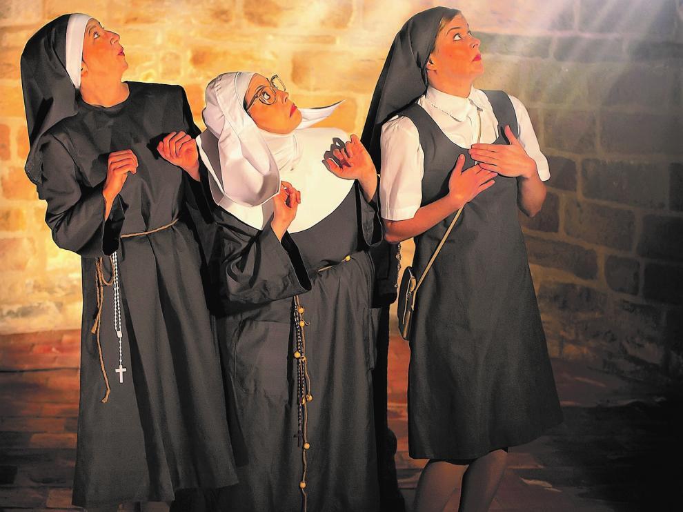 Titánicas pondrá en escena 'Oh my god!' en Valsalda.