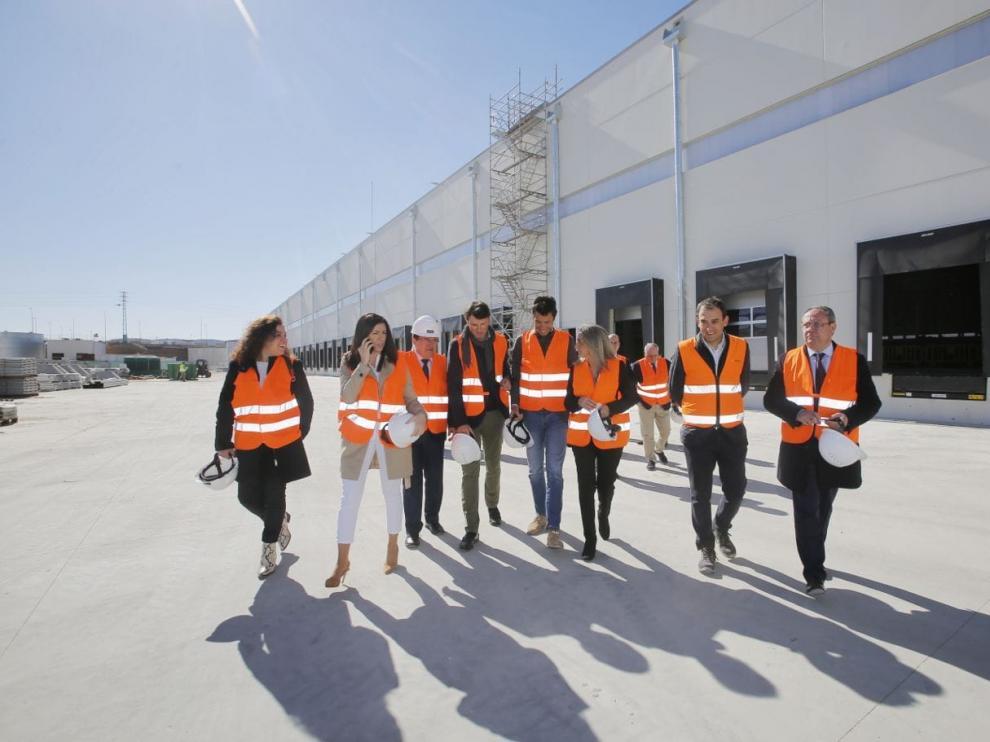 Visita de obra plataforma de Montepino en Toledo