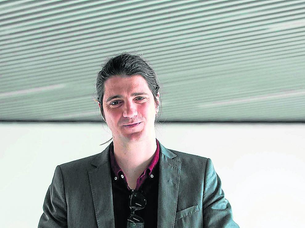 Alejandro Simón, en las instalaciones de Etopia.