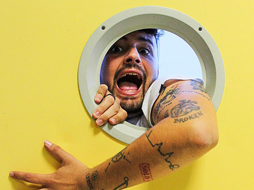 Cárcel del espectáculo de Juan Amodeo en el Teatro de las Esquinas de Zaragoza