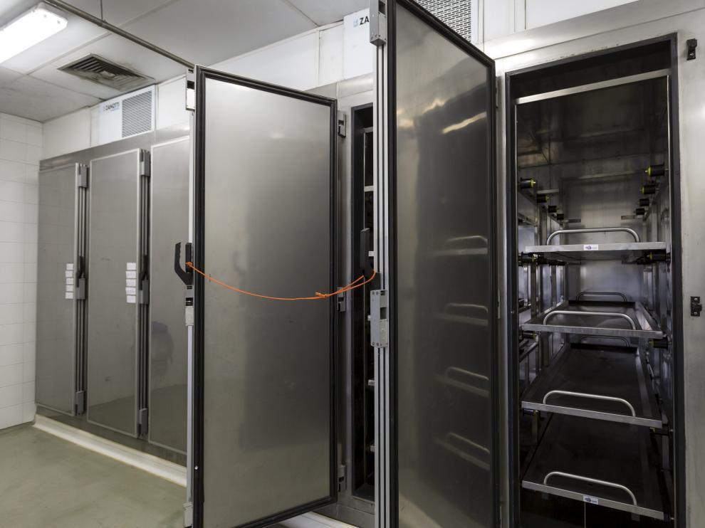 Las nuevas instalaciones tienen capacidad para almacenar 500 cadáveres e impartir prácticas a 2.000 alumnos.