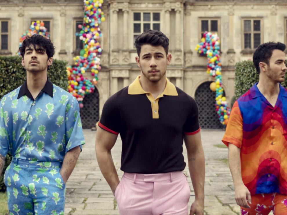 El grupo de música, Jonas Brothers.