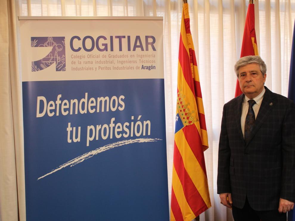 El nuevo decano de Cogitiar, Enrique Zaro.
