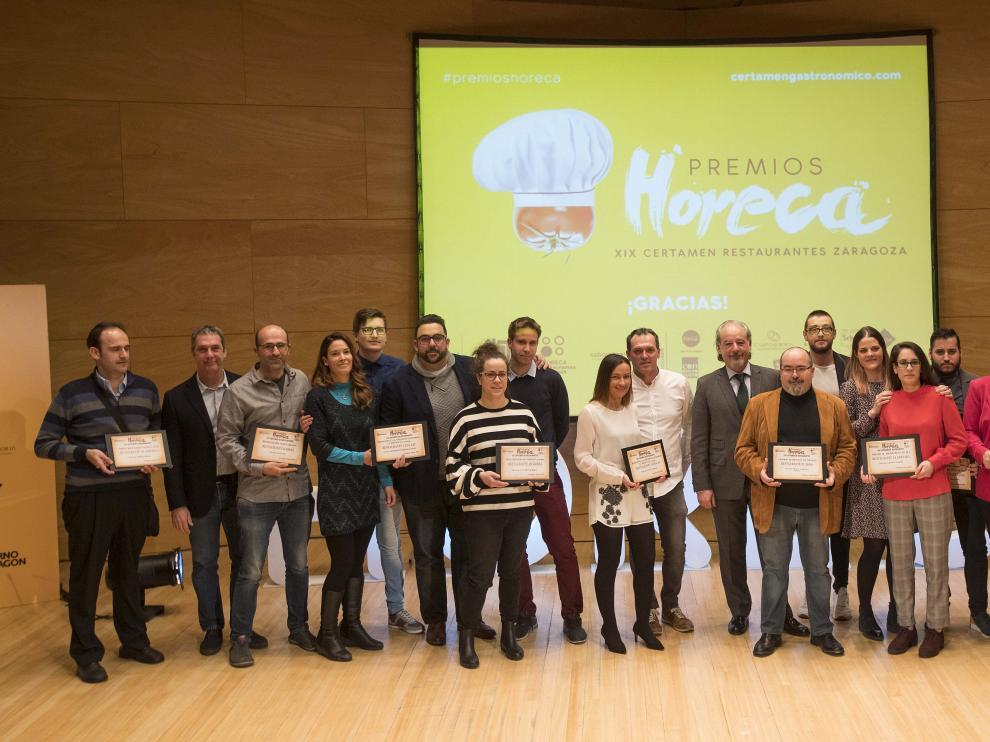 Los restaurantes La Granada y Cancook Gastro fueron los ganadores de los Premios Horeca 2018 en las categorías de menús de 30 y 50 euros