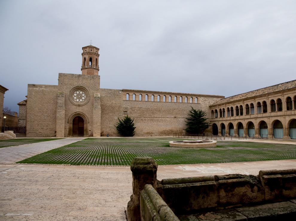 Reapertura del Monasterio de Rueda, en 2018.