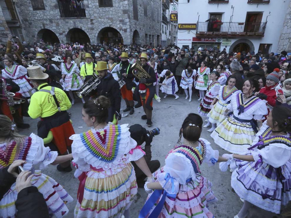 Carnaval de Bielsa / 10-2-18 /Foto Rafael Gobantes [[[FTP PRINCIPAL FOTOGRAFOS]]]