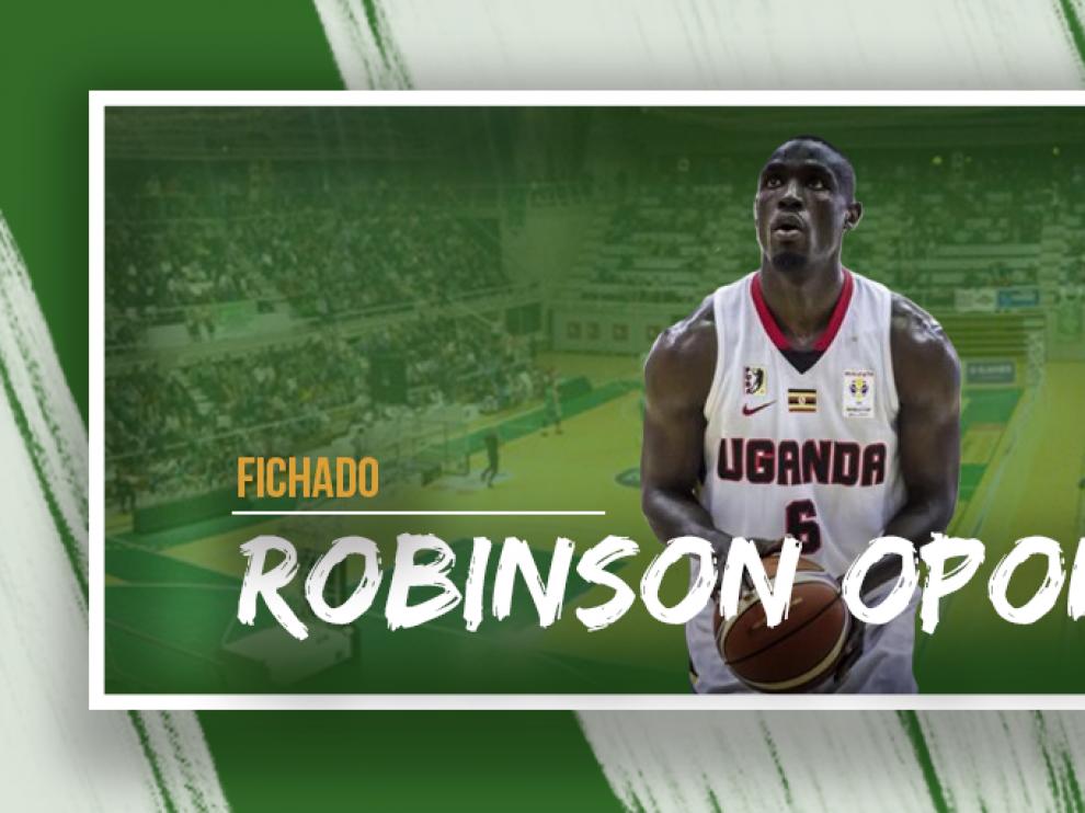 Robinson Opong, último fichaje del Levitec Huesca