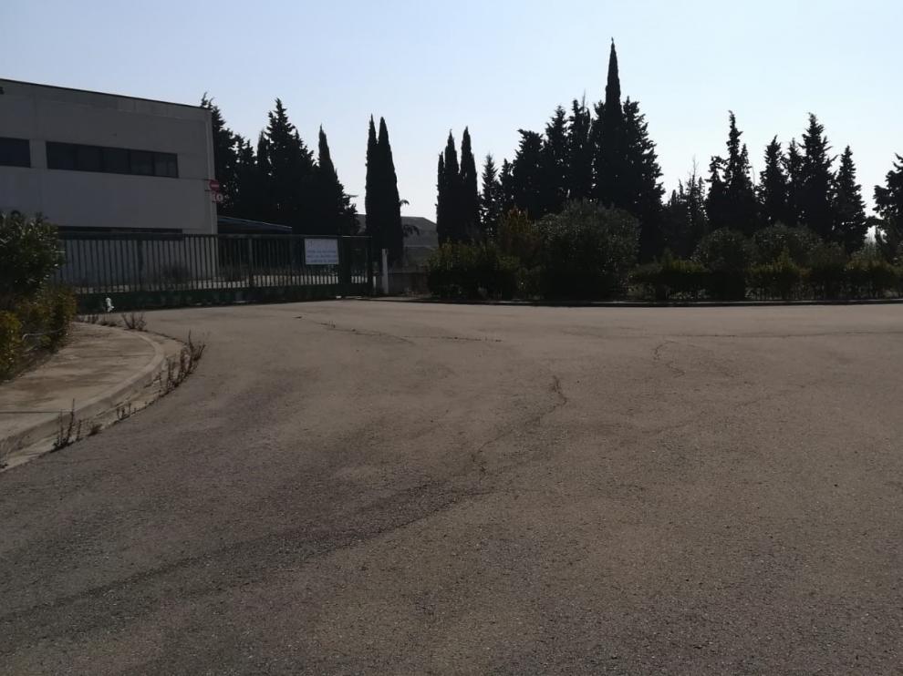 Sector 10, una de las dos zonas industriales de Gurrea del Gállego.