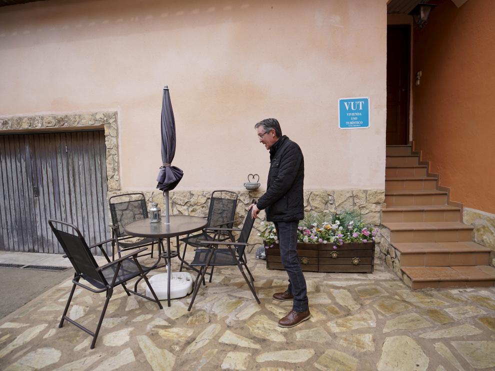 Vivienda de uso turístico en Teruel.