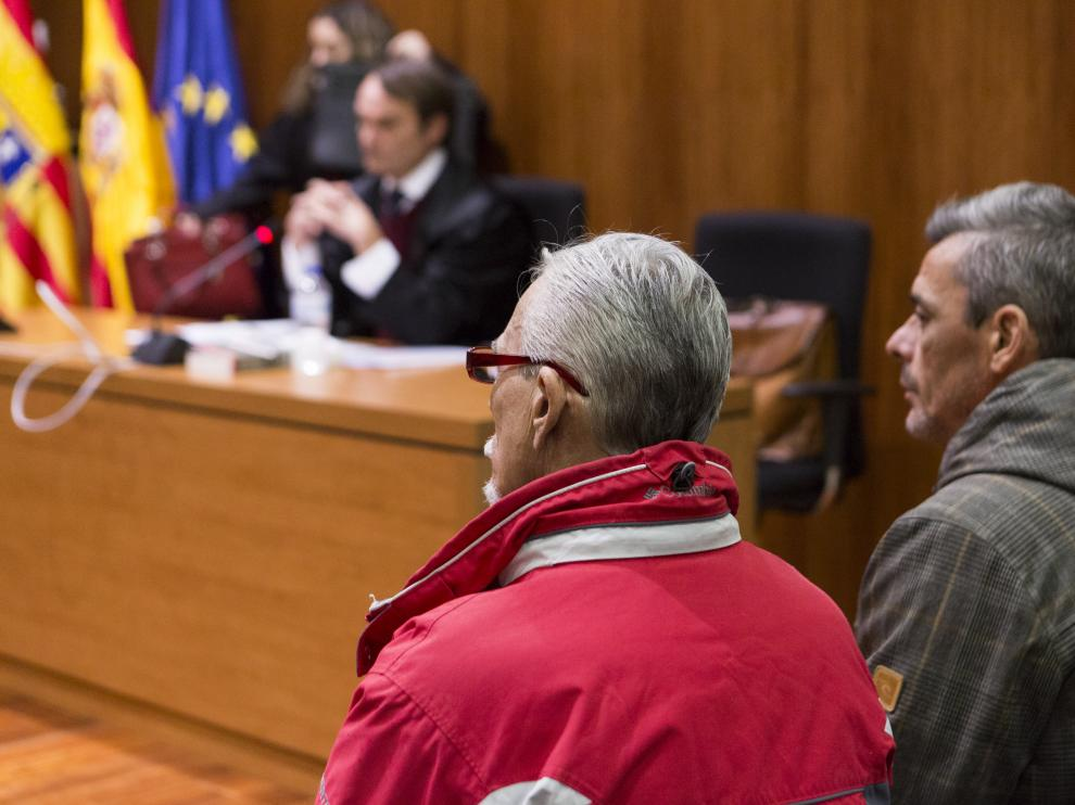 ARAGON JUICIO POR TENTATIVA DE HOMICIDIO / 14-02-2019 / FOTO: ARANZAZU NAVARRO [[[FOTOGRAFOS]]]
