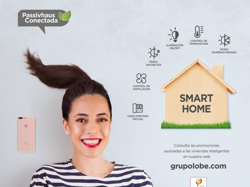 Las viviendas que Grupo Lobe comercializará en el futuro dispondrán de sistema inteligente.