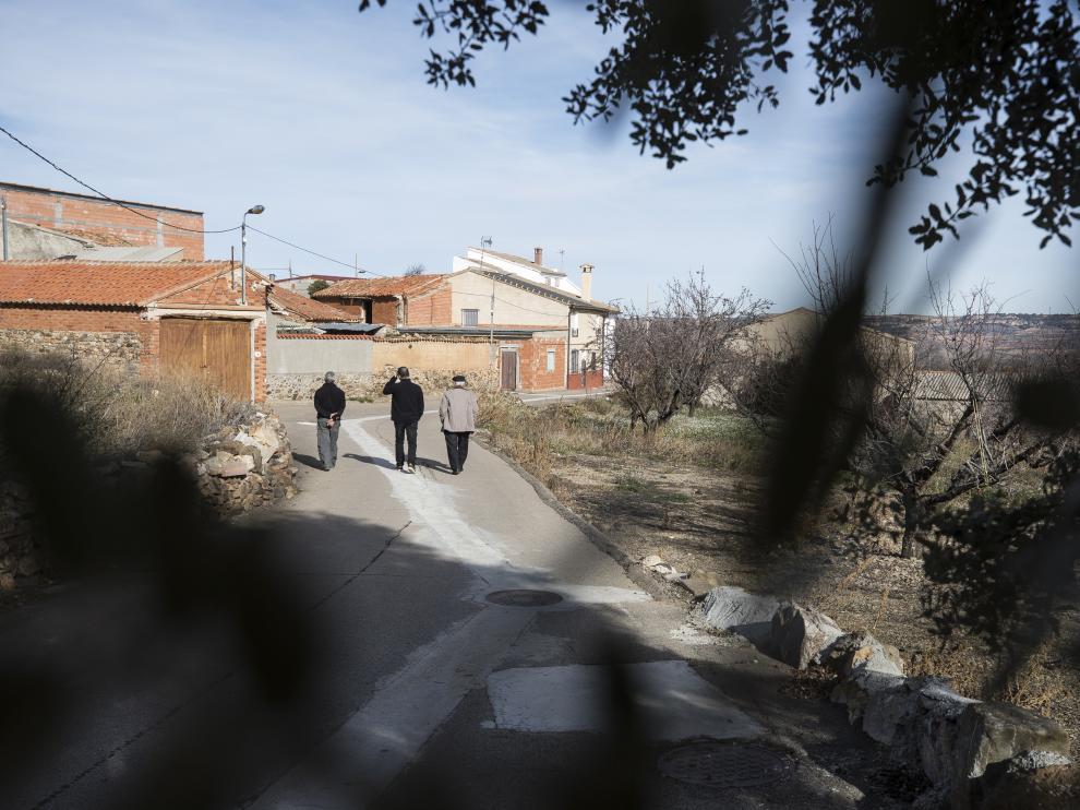 Valdehorna, uno de los municipios del Campo de Daroca.