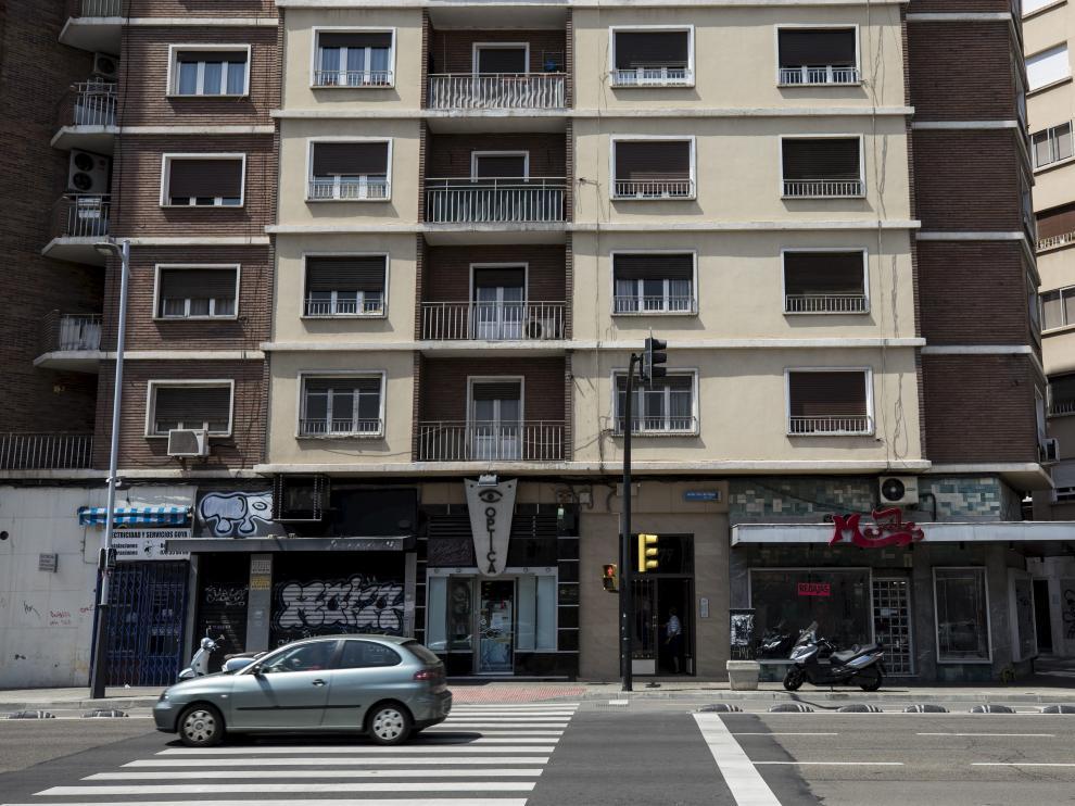 La detención se ha producido en la avenida de Goya.