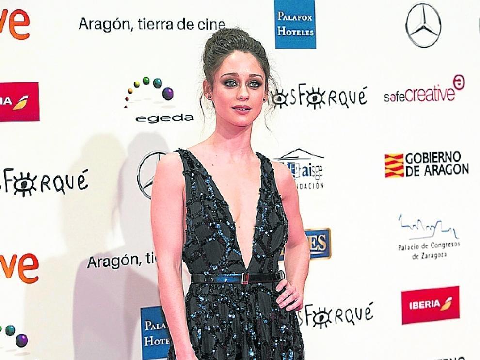 Elena Rivera, en la última edición de los Forqué.