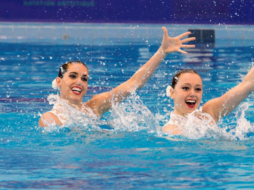 Ona Carbonell y Sara Saldaña, terceras en París