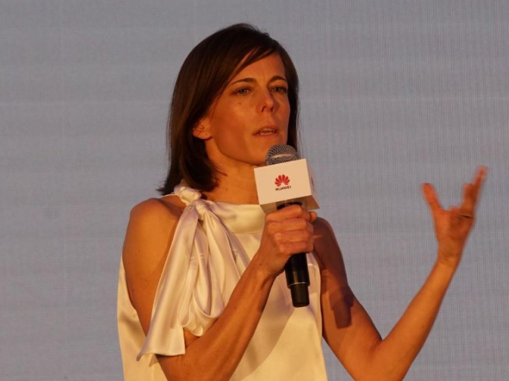 Victoria Pueyo, oftalmóloga del Hospital Miguel Servet.