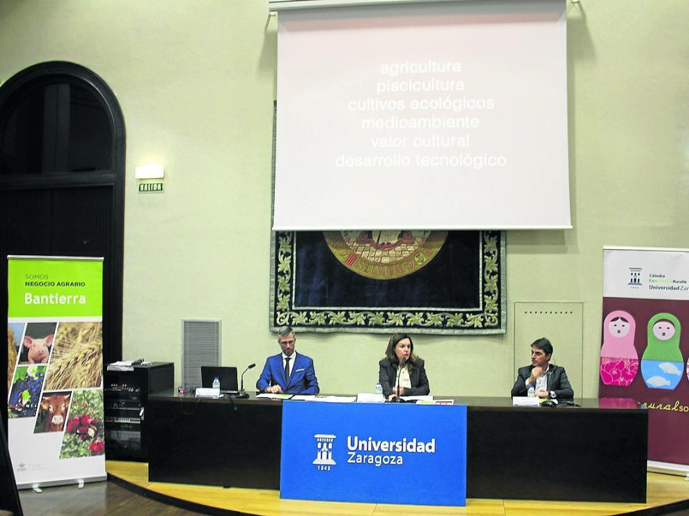 Jornada de la cátedra Bantierra-Ruralia de la Universidad de Zaragoza celebrada esta semana.