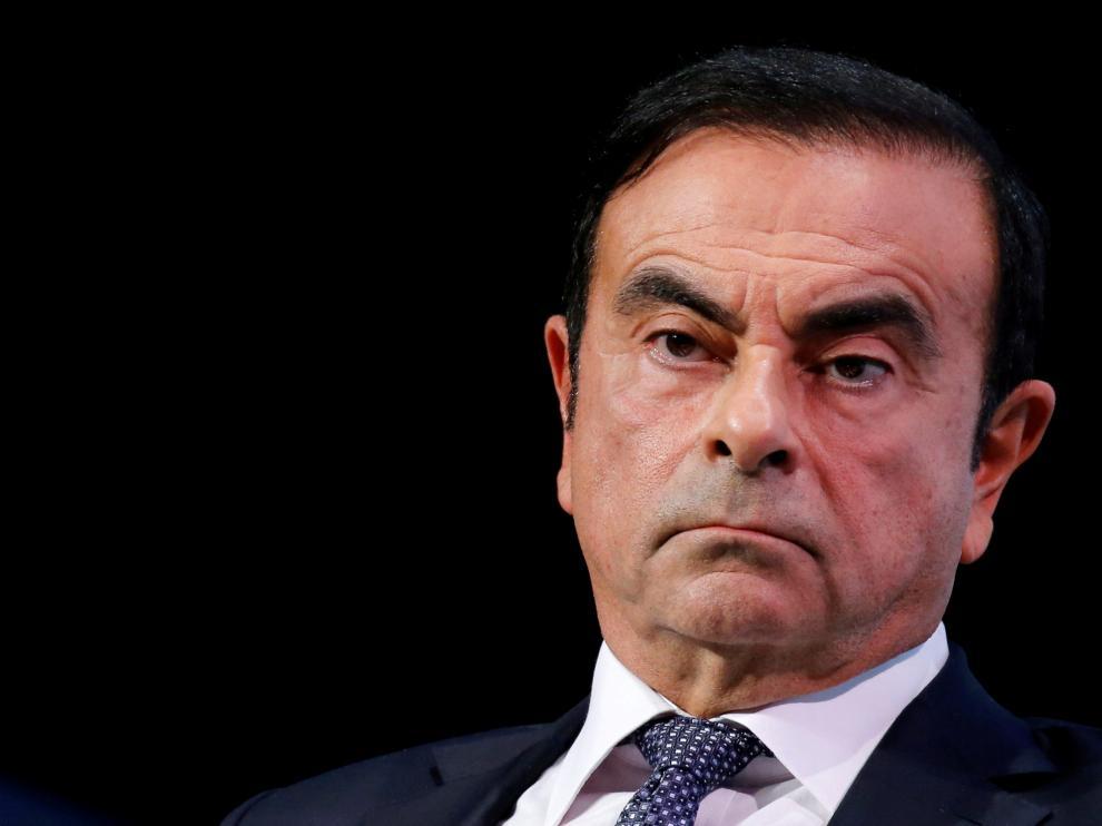 Carlos Ghosn, expresidente de Renault, Nissan y Mitsubishi.