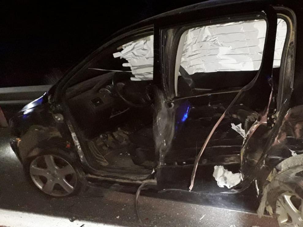 Un hombre de 45 años fallece atropellado por un camión en la A-2, a la altuar de La Almunia.