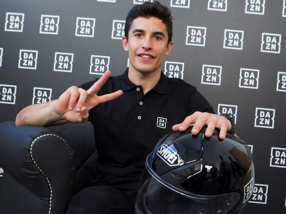 El campeón del mundo de Moto GP, Marc Márquez