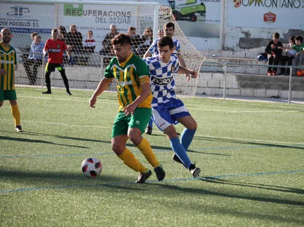 Fútbol. Tercera División. Tamarite vs La Almunia