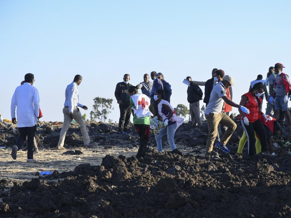 Accidente aéreo en Etiopía.