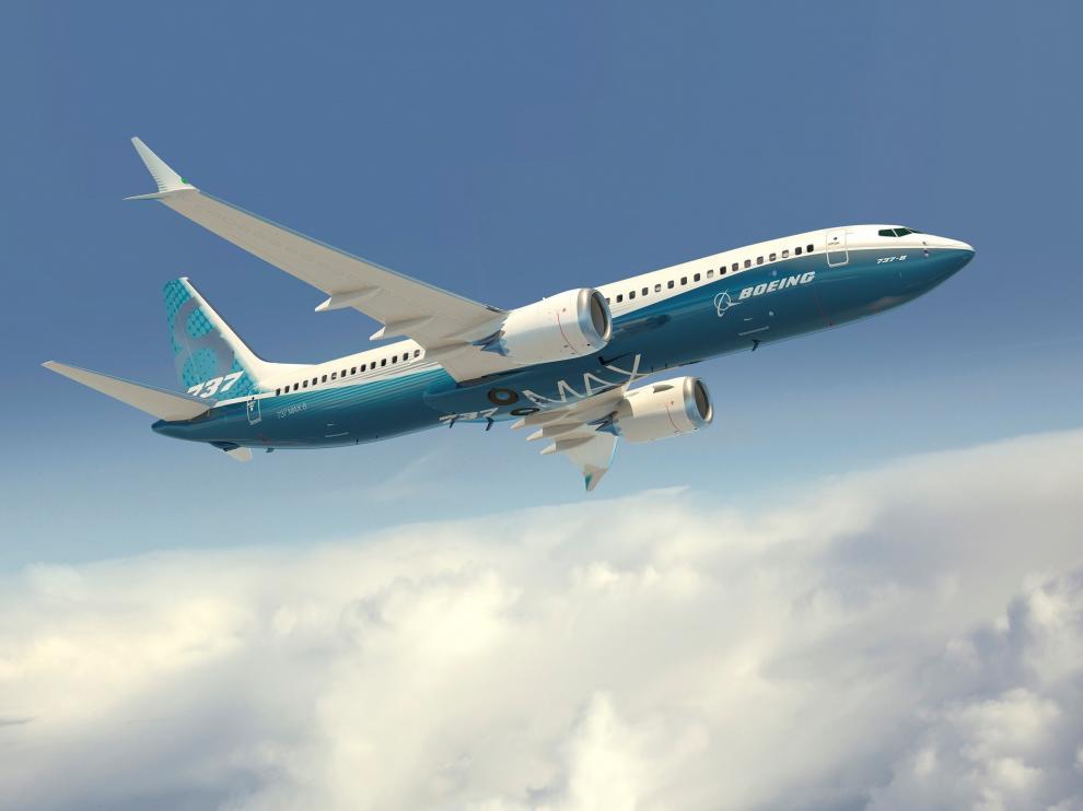 Un Boeing 737 Max 8, el mismo que ha protagonizado los siniestros de Indonesia y Etiopía