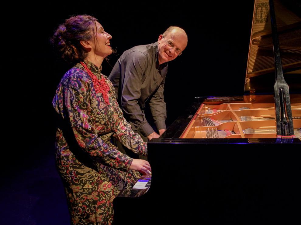 Carmen Martínez-Pierret y Guillaume de Chassy protagonizarán un duelo interpretativo al piano este viernes en la Diputación.