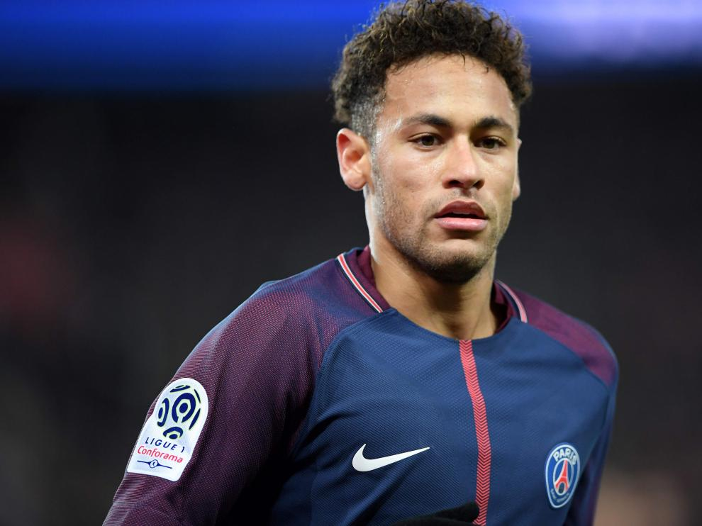 Neymar, jugador del PSG.