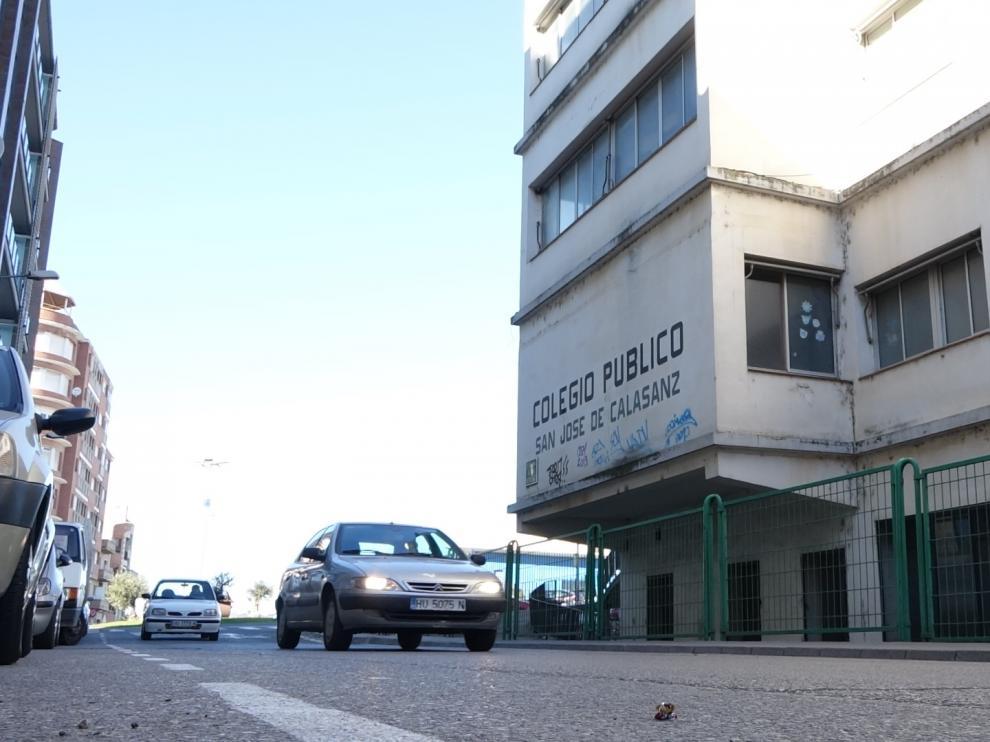 Imagen de la fachada del antiguo colegio de San José de Calasanz.