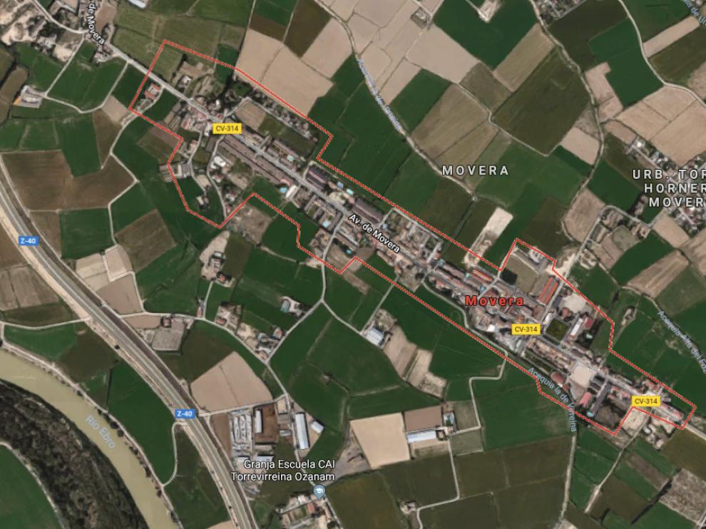 Los hechos ocurrieron en el barrio rural de Movera, en Zaragoza.
