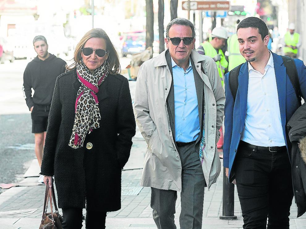 Mayte Pérez, Juan Antonio Sánchez Quero y Darío Villagrasa