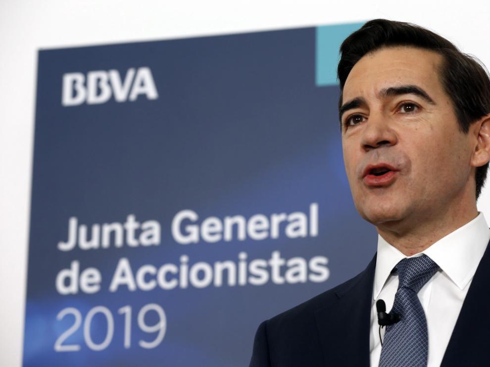 """""""BBVA ha sido, es y seguirá siendo un banco honesto"""", insiste su presidente"""