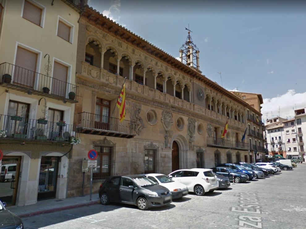 La Plaza de España de Tarazona se cerrará al tráfico a partir de este domingo