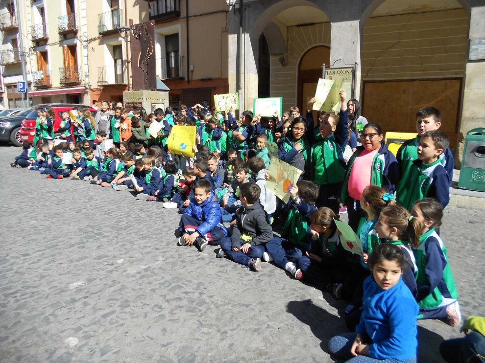 Manifestación cambio climático Tarazona