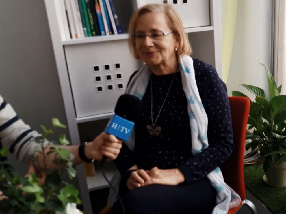 Mariví García, de 70 años, ha recibido apoyo psicológico en la asociación Afda, que cuenta con dos sedes en Zaragoza (en la calle de San Blas y en Predicadores) y una en Huesca.