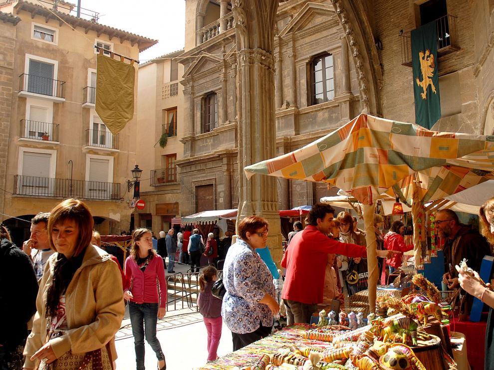 mercado medieval Alcañiz
