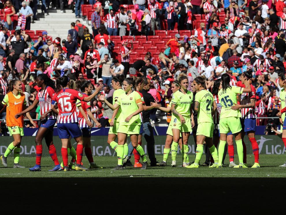 Partido histórico para el fútbol femenino