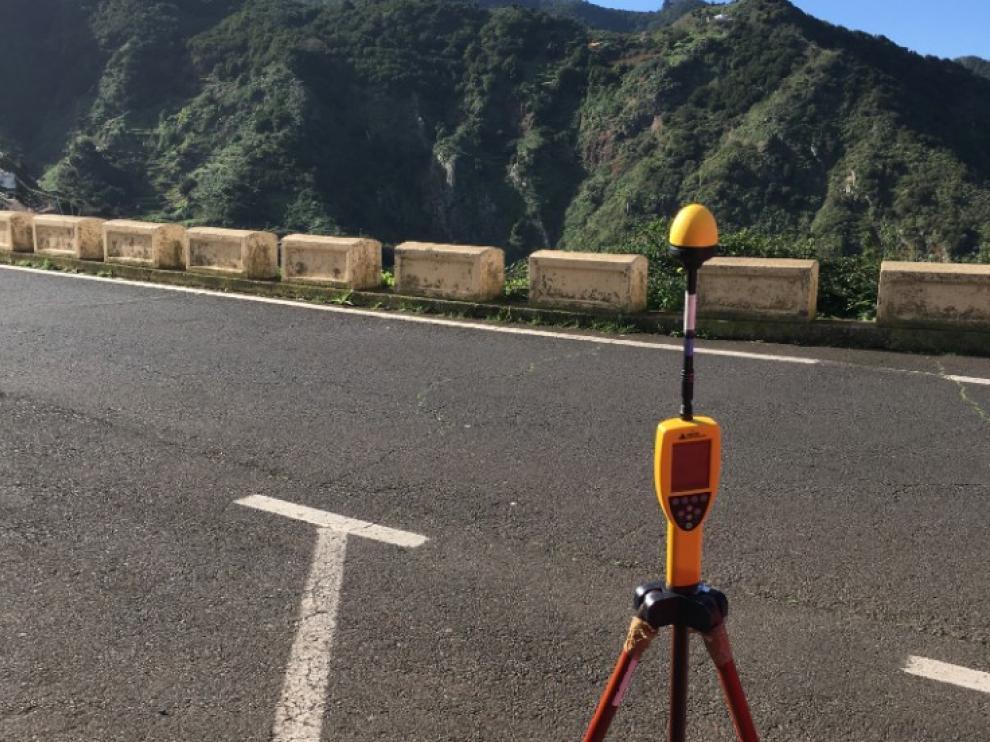 Medidas de banda ancha y estrecha para el radar de Taborno (Tenerife).