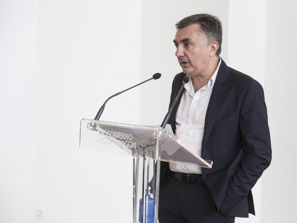 Pablo Serrano. Entrega del premio de las Letras Aragonesas. MANUEL VILAS / 06-05-2016 / FOTO: GUILLERMO MESTRE