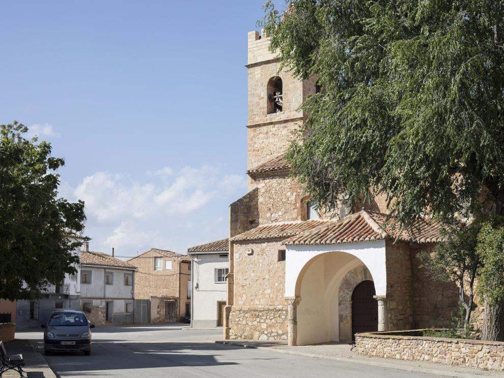 La localidad turolense de Torremocha de Jiloca es el punto de partida de esta ruta.