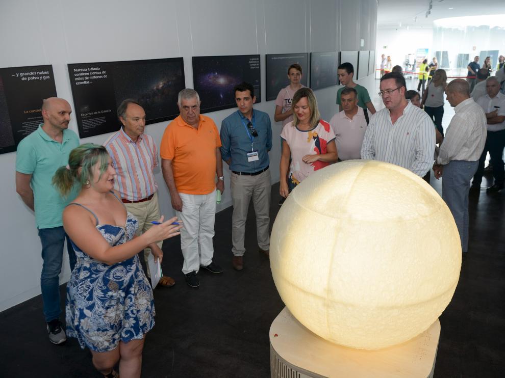 Apertura provisional de Galáctica el pasado mes de julio.
