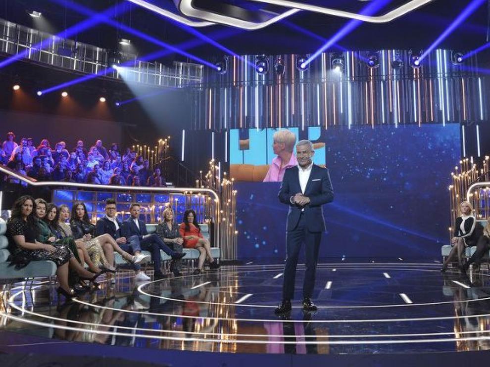 Jorge Javier Vázquez presentando una gala de GH DÚO