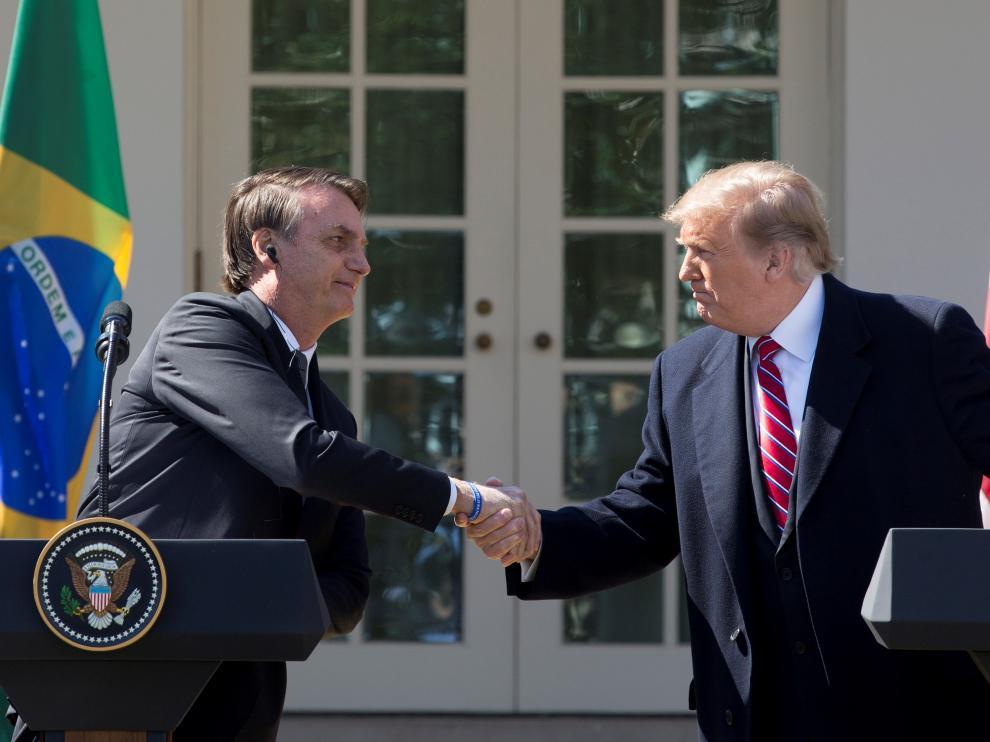 Trump y Bolsonaro forman un eje contra el socialismo en su primera reunión