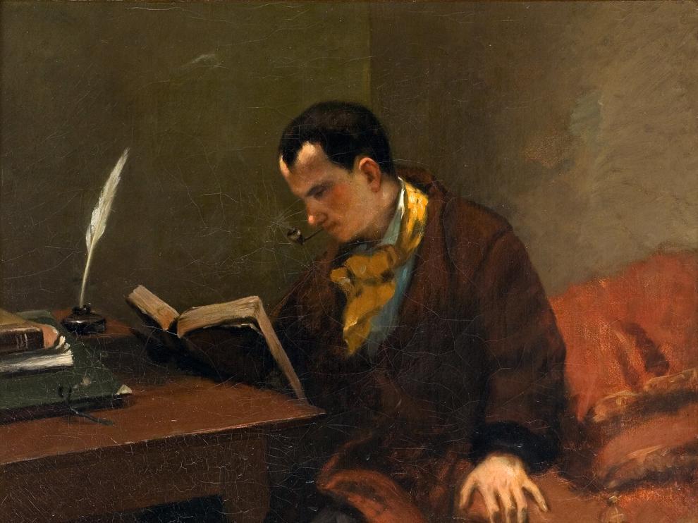 Baudelaire por Gustave_Courbet_033