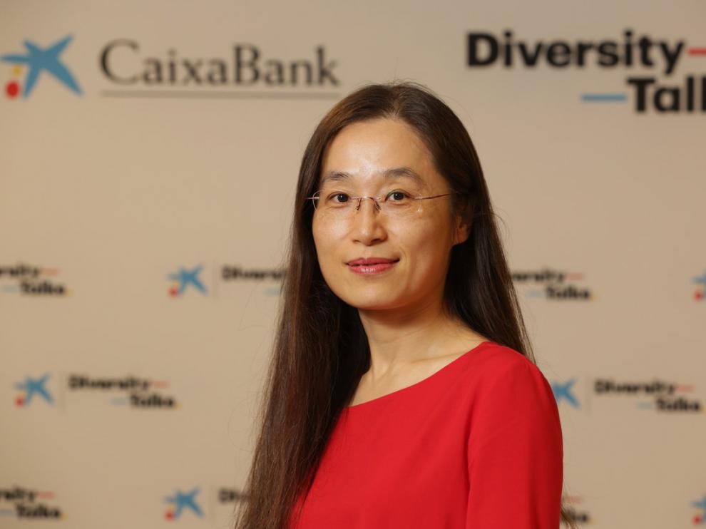 Verónica Shao, directora de la Oficina de Representación de Caixabank en Shanghái.