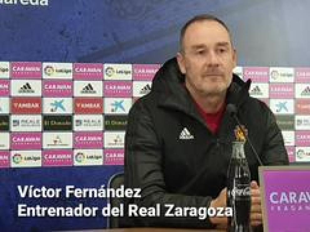 El entrenador del Real Zaragoza, Víctor Fernández, ha hablado este viernes en rueda de prensa sobre el próximo partido frente al Mallorca y sobre la situación del equipo.